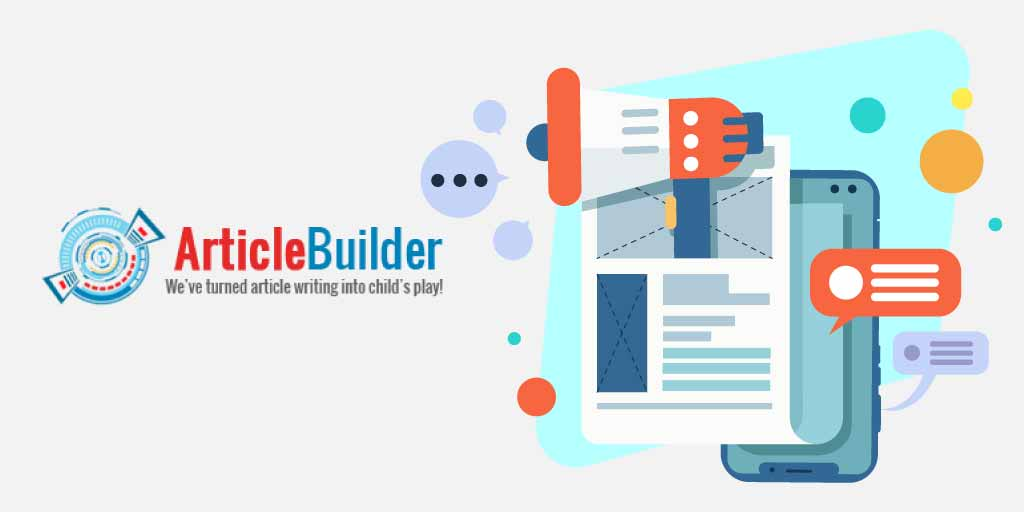article builder, article builder tool