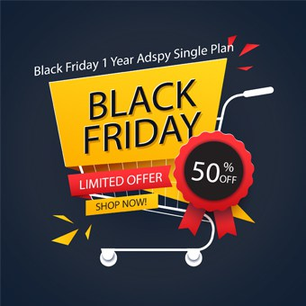 Black Friday seo tools offer 1 Year Adspy Single Plan