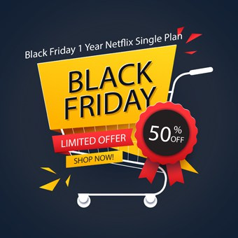 Black Friday Offer 1 Year Netflix