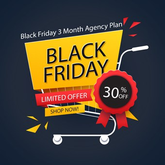 Black Friday seo tools offer 3 Month Agency Plan