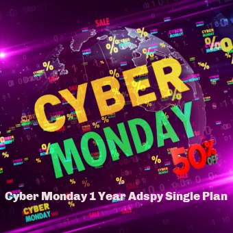 Cyber Monday 1 Year Adspy Single Plan-Offer
