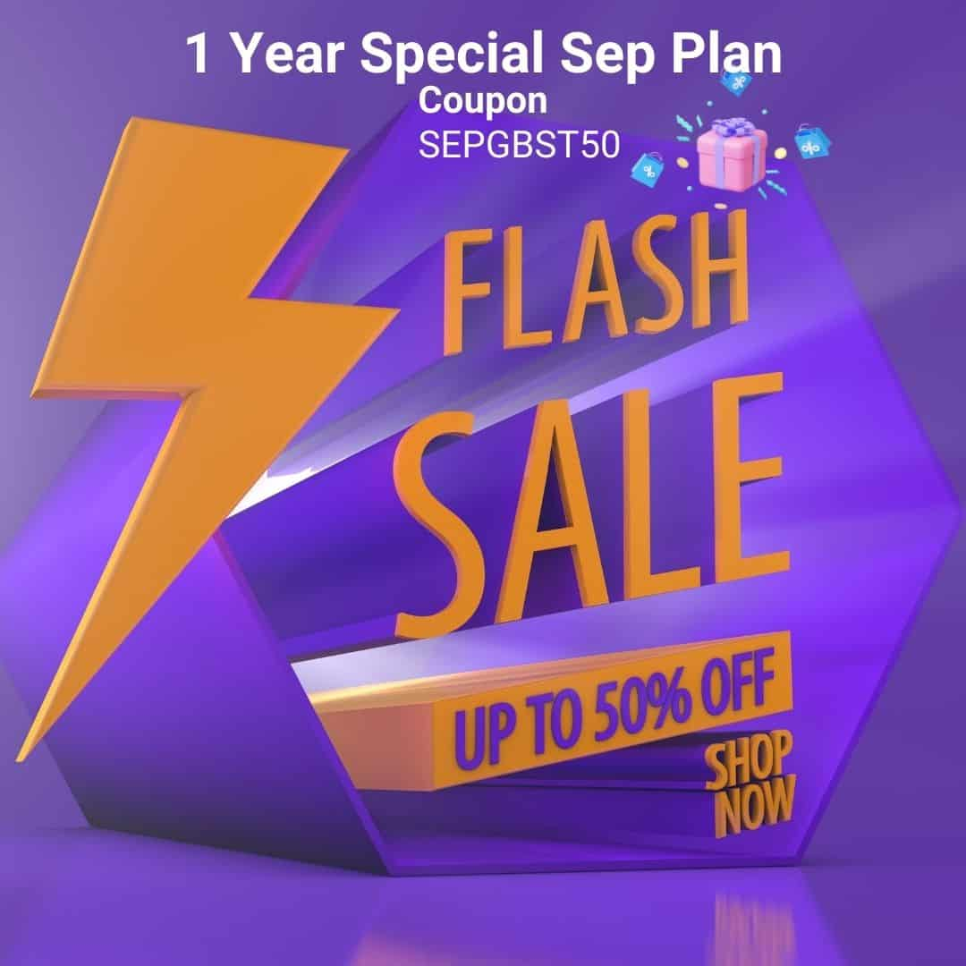 1 Year Special Sep Plan